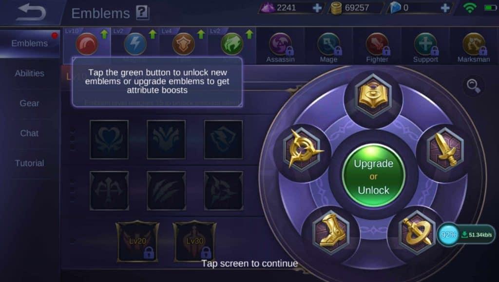 Mobile Legends Emblem Sets 2019 (New System Explained)